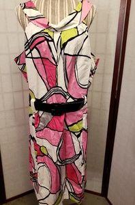 Lane Bryant Belted Dress
